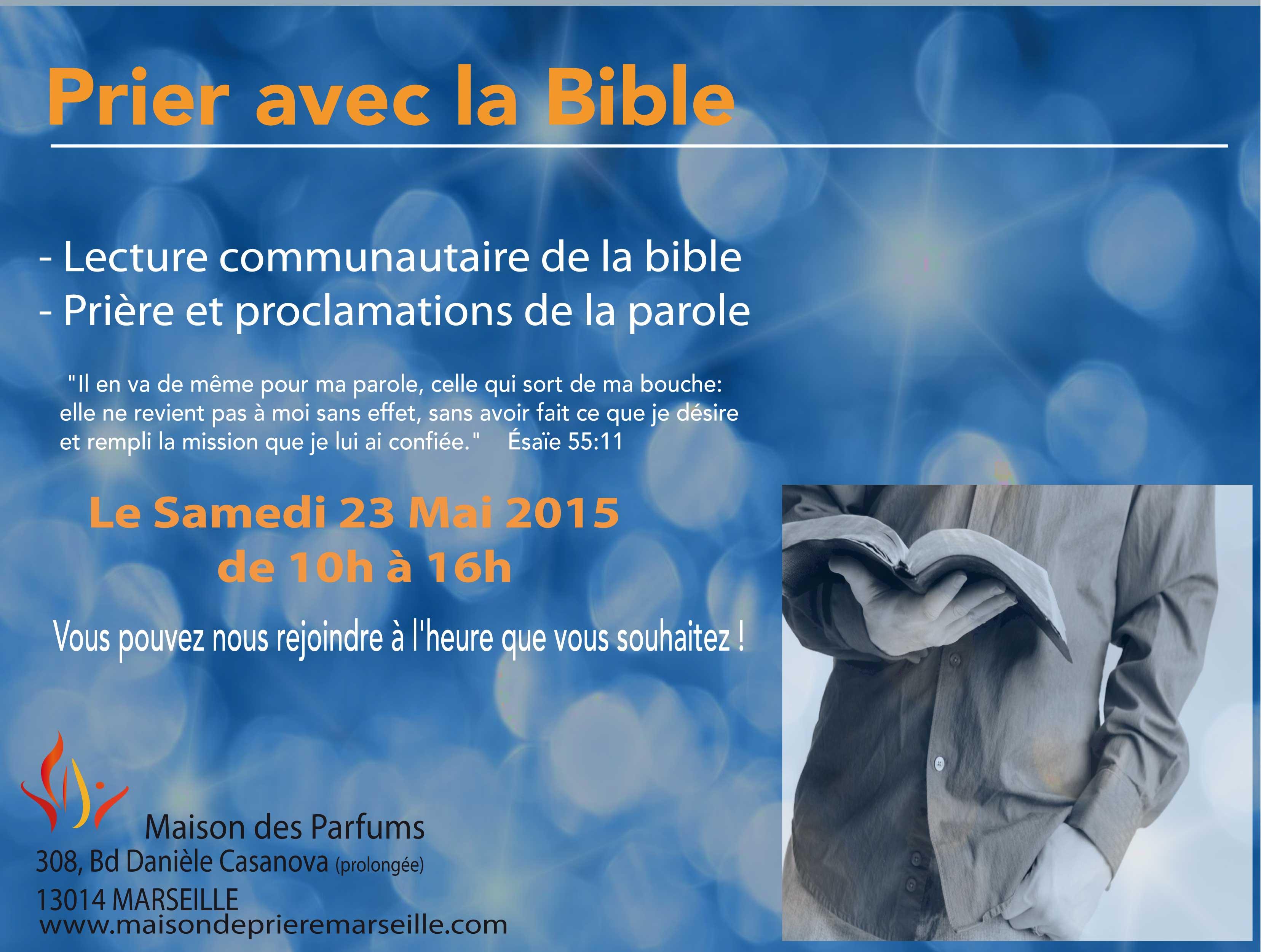 Prier avec la bible Mai 2015