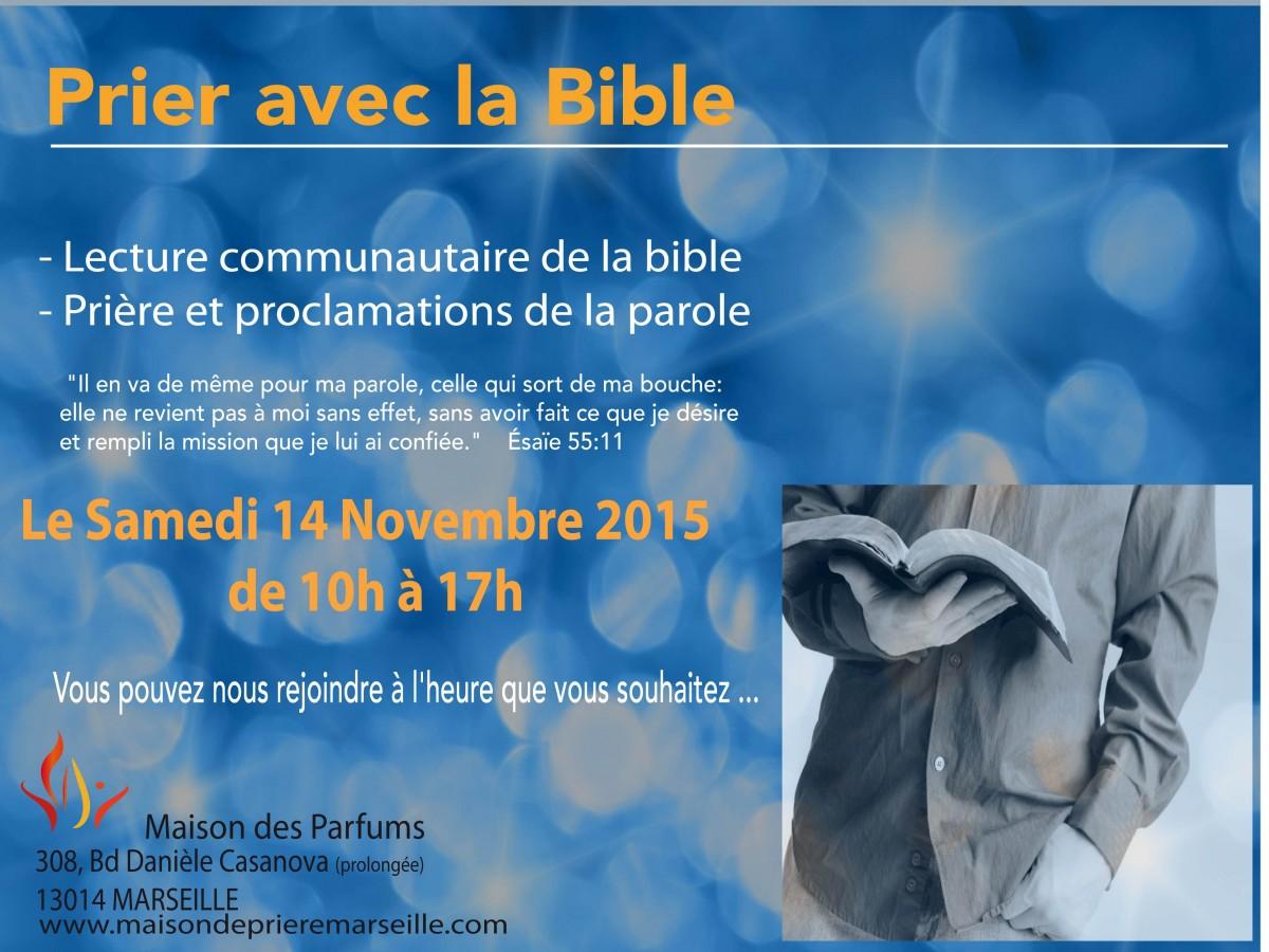 Prier avec la bible Nov 2015