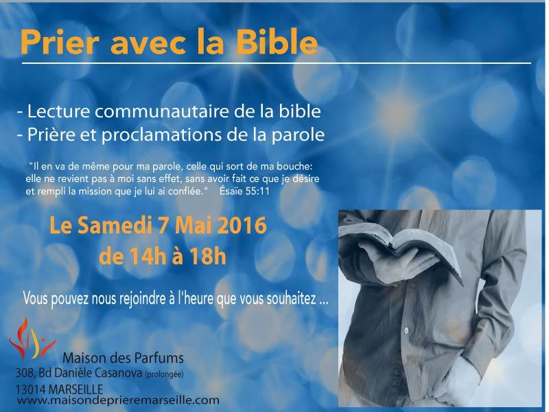 Prier avec la bible Mai 2016